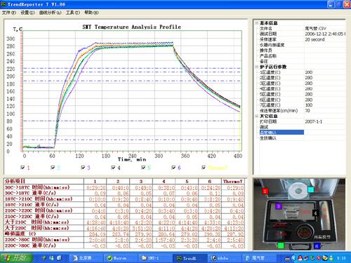 炉温跟踪仪价格 温度测试仪 温度曲线测试仪